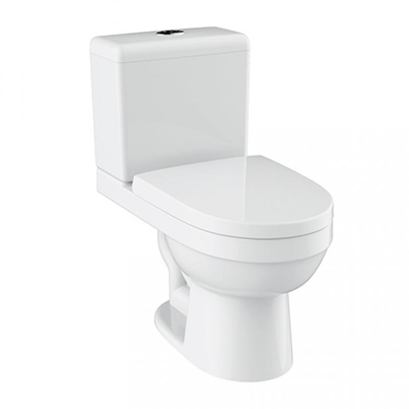 HDC598A+HDS598 Close-Coupled Toilet buy wholesale - company Huida Sanitary Ware Co.,Ltd. | China