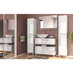 Gloss Bathroom Cabinet Doors