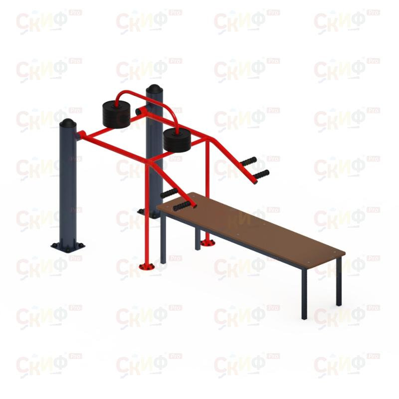 ST 026 Outdoor Bench Press  buy wholesale - company Скиф | Russia