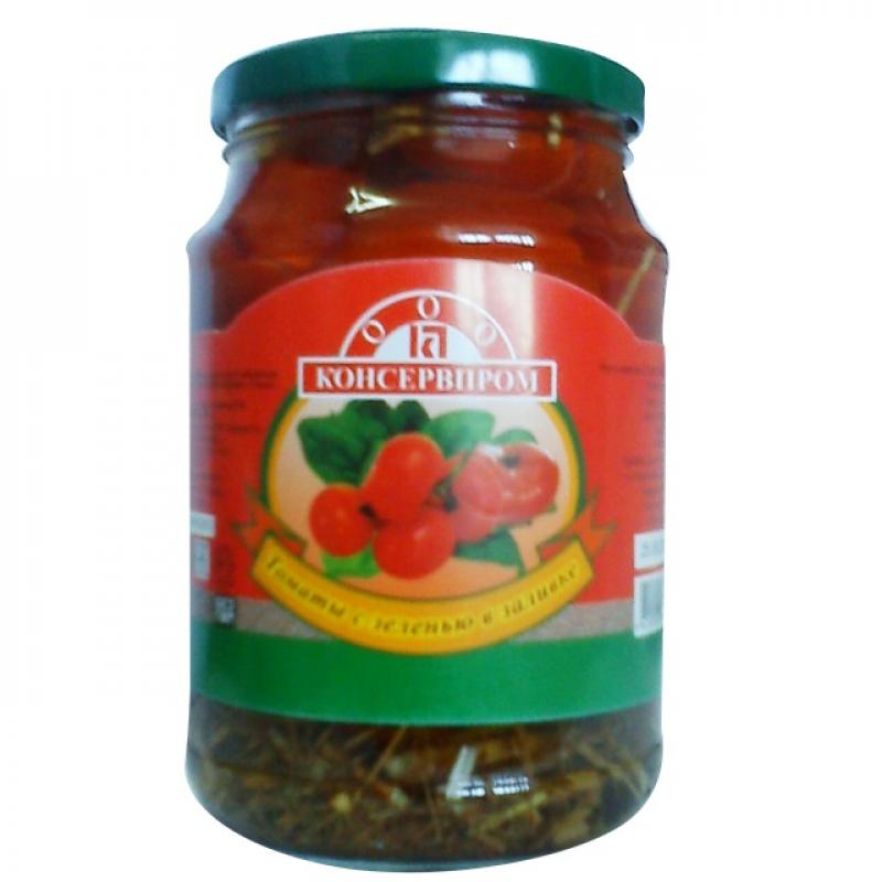 Pickled Tomatoes buy wholesale - company ООО