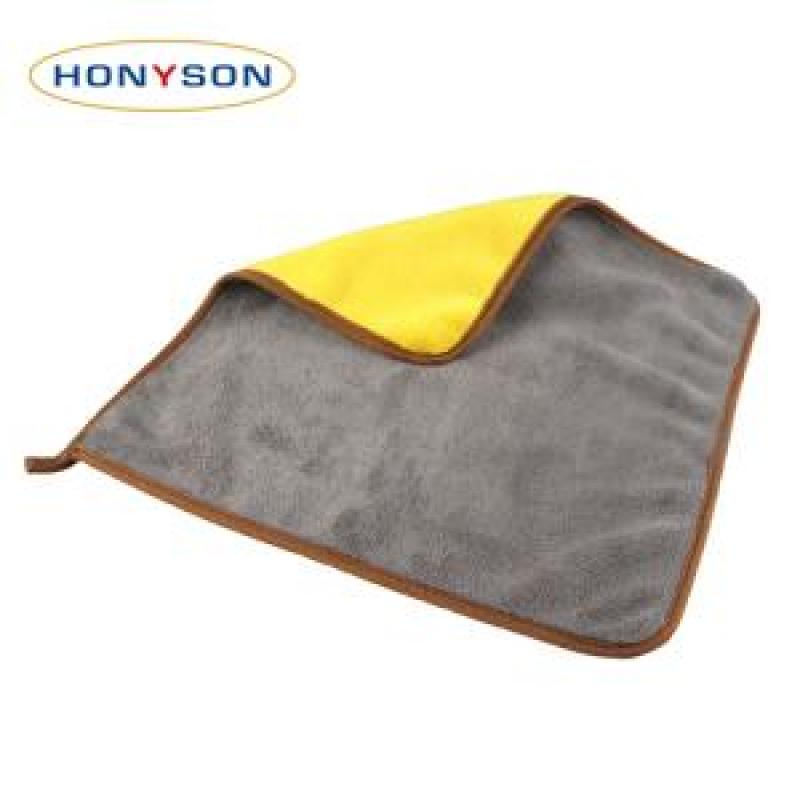 800gsm Double-side Coral Fleece Towel buy wholesale - company Hebei HONYSON Textile Co.,Ltd | China
