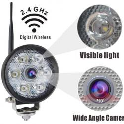 720P HD Digital Wireless LED Work Light Camera
