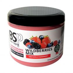 BIO&SPA Mild Soap for Body and Hair WILDBERRIES MIX 500 ml