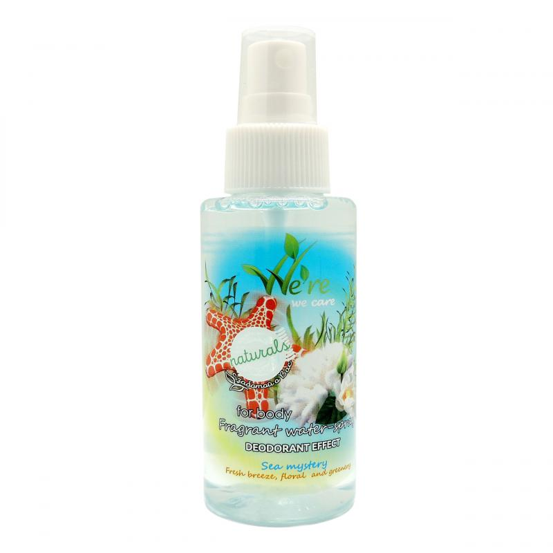 We're We Care Fragrant Water-Spray with Deodorant Effect Sea Mystery 100ml