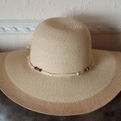 Italian Straw Women's Summer Hat