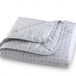 100% Cotton Percale Bamboo-Cotton Blanket