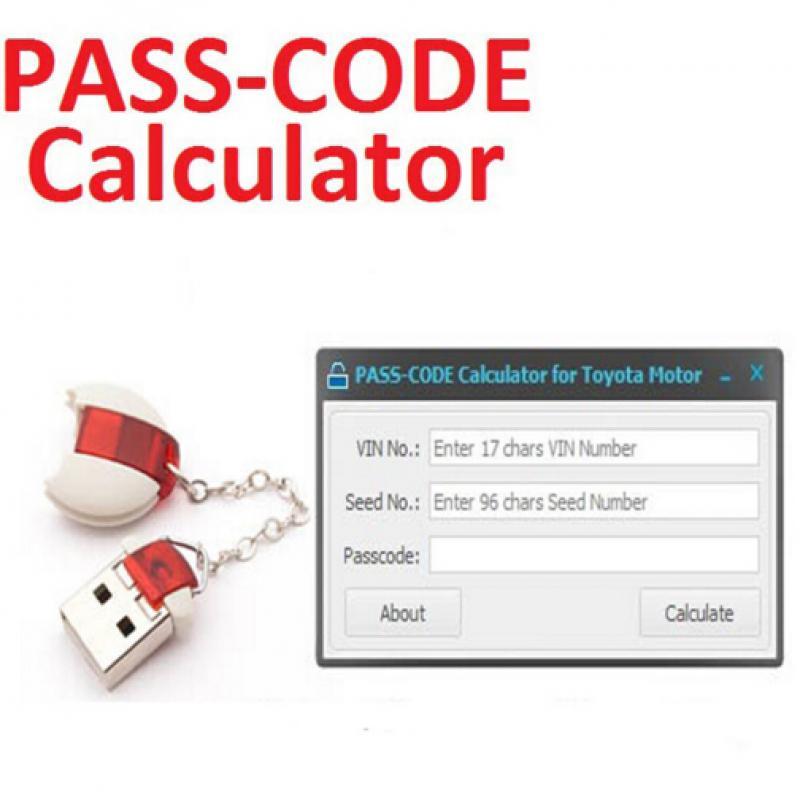 Pass Code Calculator Auto Key Programming for Toyota Lexus Scion