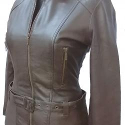 100% Genuine High Quality Leather Jacket For Ladies