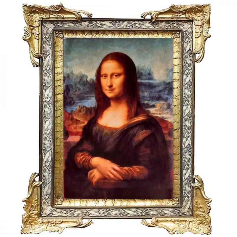 Mona Lisa Handmade Wall Carpet