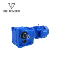 K Series Helical Bevel Right Angle Gearbox Gear Motor