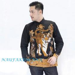 Batik Naufakencana - Men's Batik Shirt - Fashion Men's