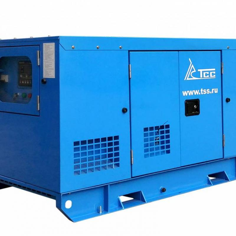 Diesel Generator ТSS АD-12S-Т400-1RКМ5 with a soundproof casing