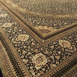 Pure Silk 24 Meters Hand-Knotted Carpets