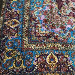 Pure Silk Hand-Knotted Carpets 6x4m
