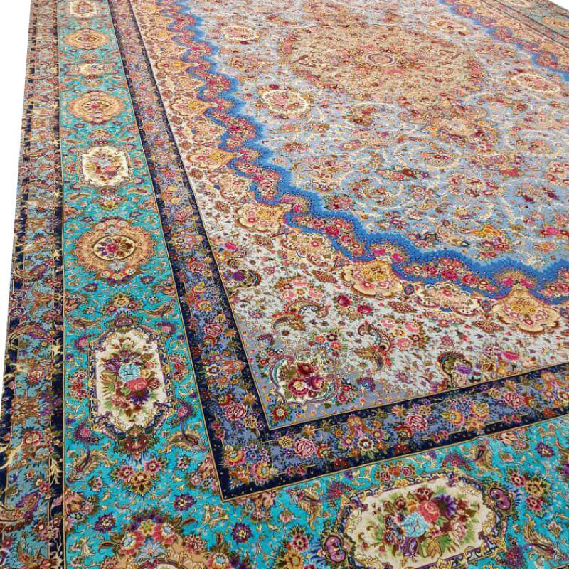 Extraordinary Hand-knotted 96   meters Carpet