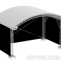 SIXTY82 Arched Stage Roof System - 6x4 m