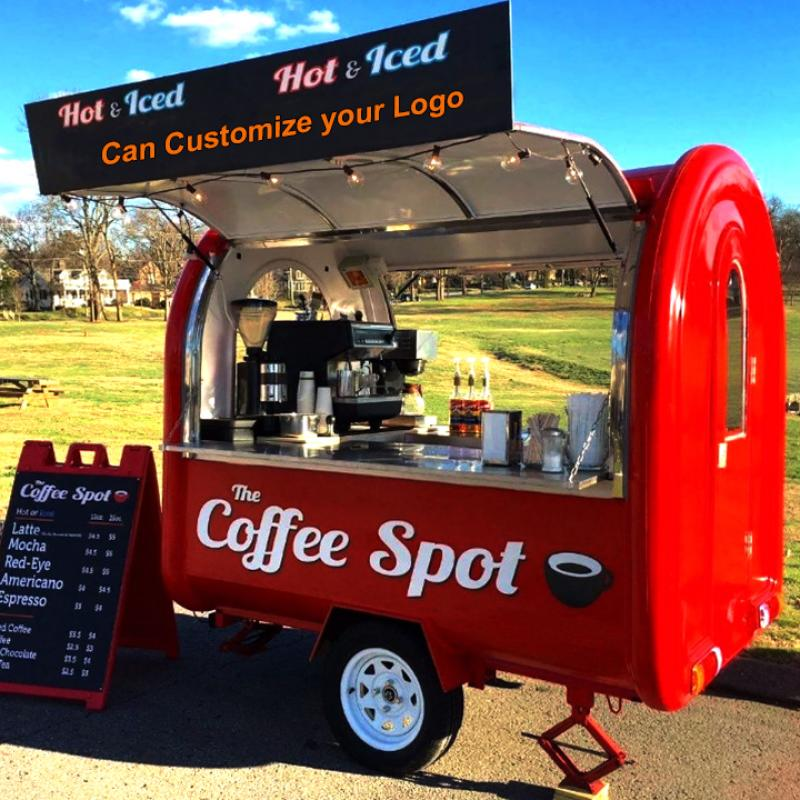Outdoor Food Concession Trailer/Mobile Coffee Trailer for Sale Coffee