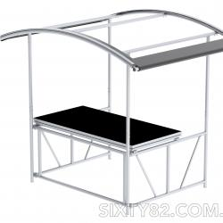 SIXTY82 Mobile DJ Stand for Events and Parties