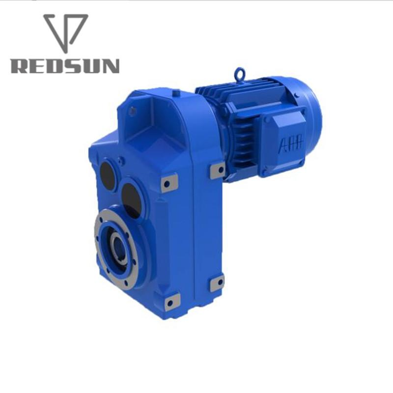 Fa Series Hollow Shaft Parallel Shaft Helical Gear Box For Crane