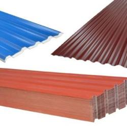 Corrugated, Trapeze, Tile Shape Roof Sheets and Equipment