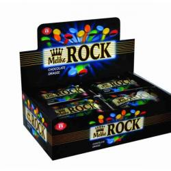 Melike ROCK Chocolate Dragees 25gr*24*6