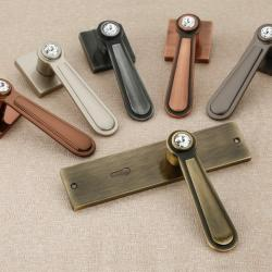 Mortise and Rose Handles