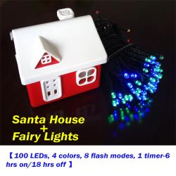 Fairy Lights (Powered by Santa House)