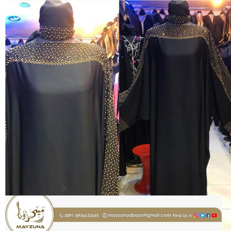 latest Degisn dubai Black Abaya For Muslim Women