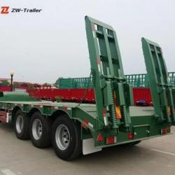 Low Flatbed Trailer