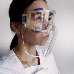 Safety Goggles with Detachable Face Shield