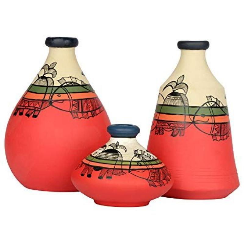 Vintage Terracotta Pots/Eco Friendly Diwali Gifts/ Collectable Table top