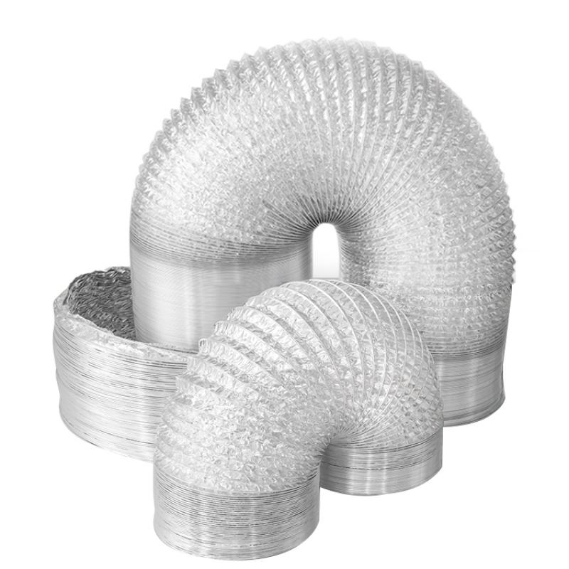 Double Layers Aluminum Flexible Duct