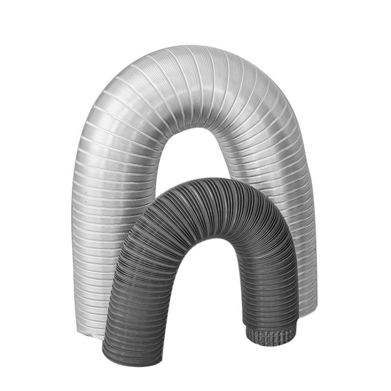 Semi-Rigid Aluminum Flexible Duct from company Shanghai Xuanyuan Air Conditioning Equipment Co., Ltd. | China