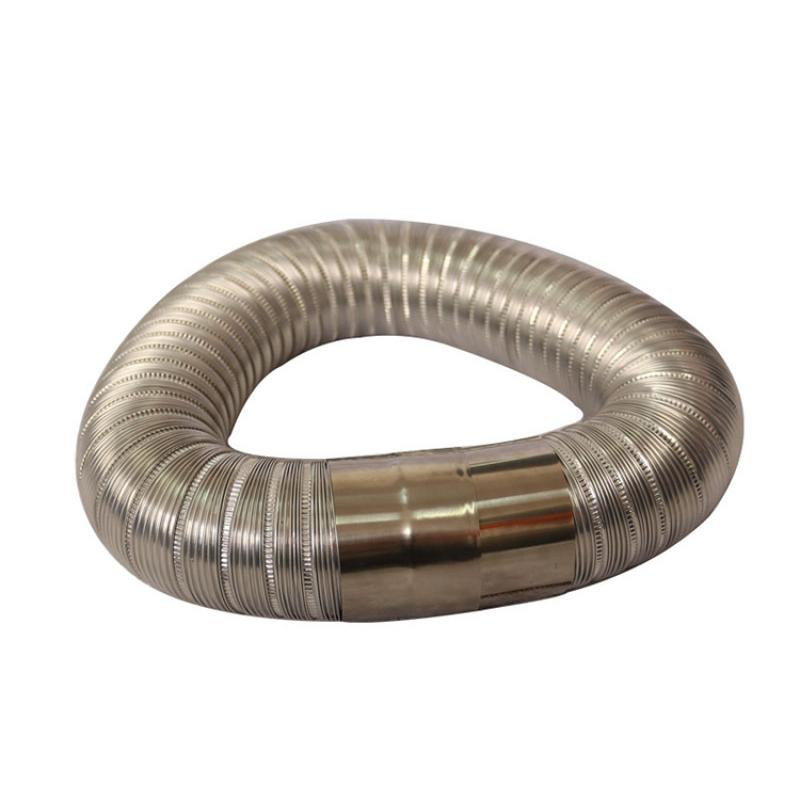 Semi-Rigid Stainless Steel Flexible Duct