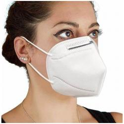 KN95 5 Layers Disposable Protective Face Masks with Elastic Ear Loop
