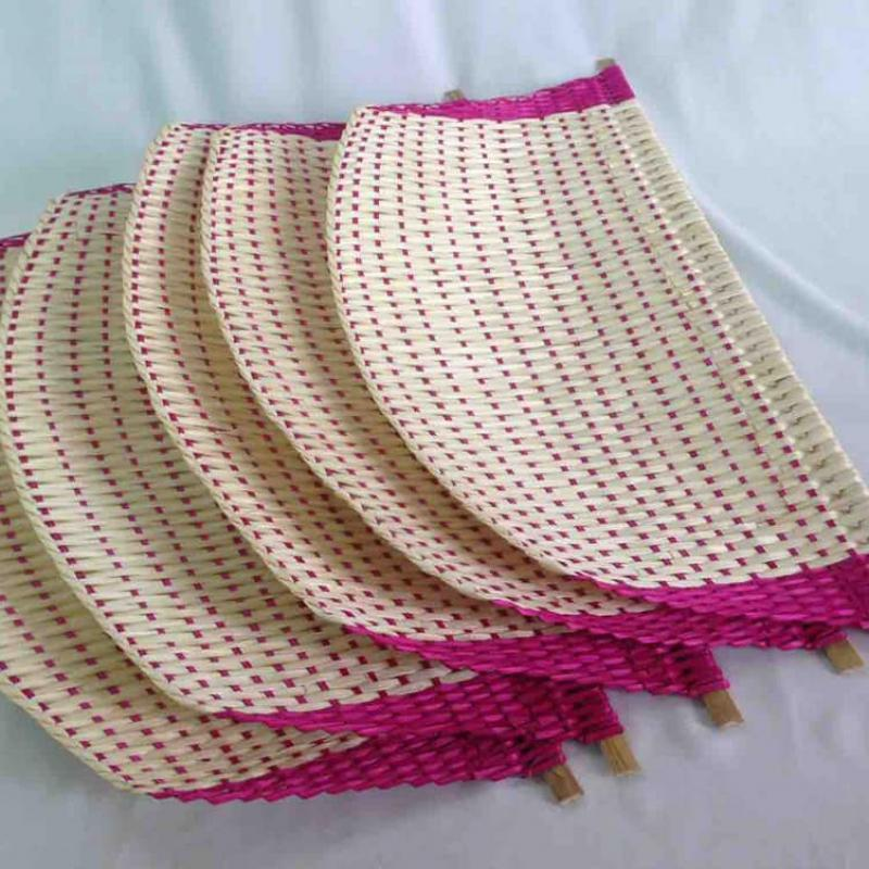 Natural Palm Leaf Hand Fan from company HANG XANH CO.,LTD | Vietnam
