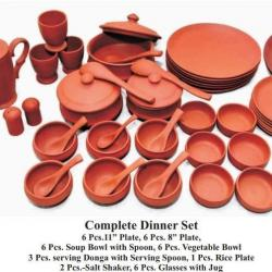 Clay Dinnerware Set