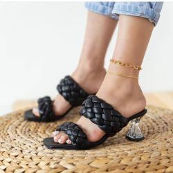 Ladies Summer Shoes - Black