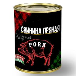 Canned Meat Spicy Pork