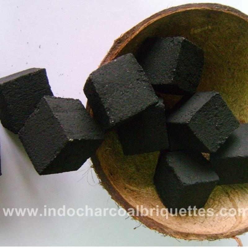 Coconut Shell Charcoal Briquettes from company Indo Charcoal Briquettes | Indonesia