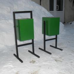 Outdoor Metal Litter Bins