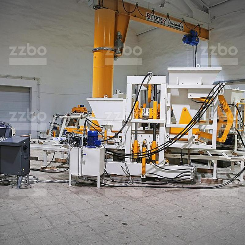 Vibrating Press Block Machine