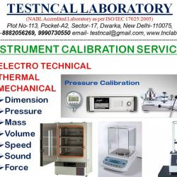 Calibration Services for Testing and Measuring Instruments