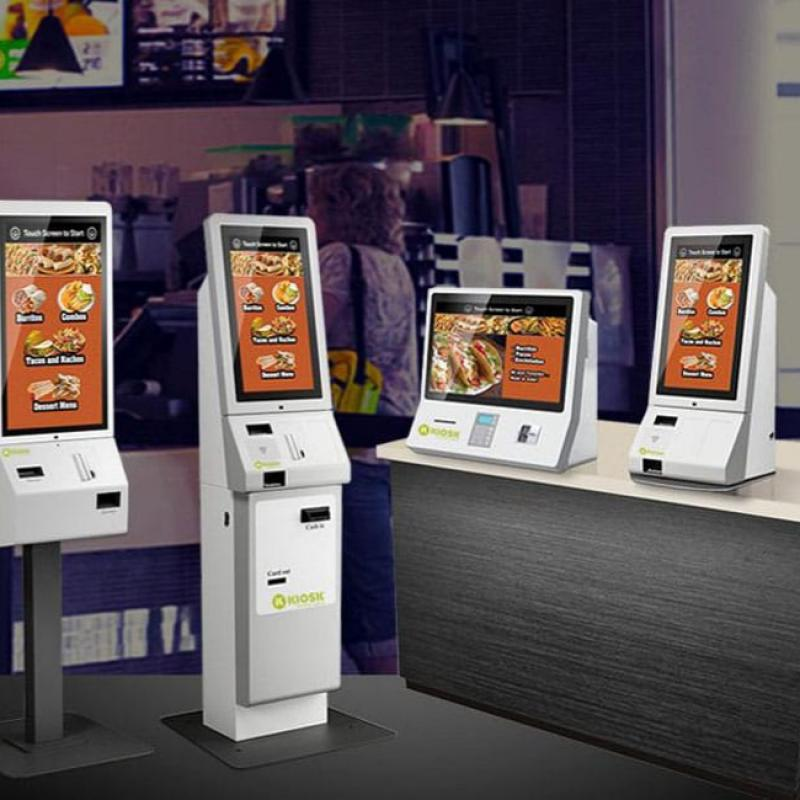 Touch Screen Self-Service Terminal Production